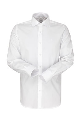 Regular-Slim fit Manchetti - White